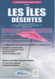 Les îles désertes @ Espace culturel Gérard Philipe